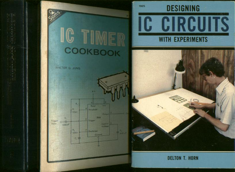 lot of 3 books on ic circuits and circuit design 1 designing iclot of 3 books on ic circuits and circuit design 1) designing ic