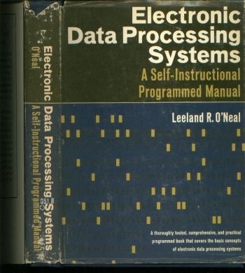 Electronic Data Processing Systems  A SelfInstructional Programmed
