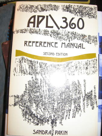 A. P. L./360 Reference Manual Sandra Pakin