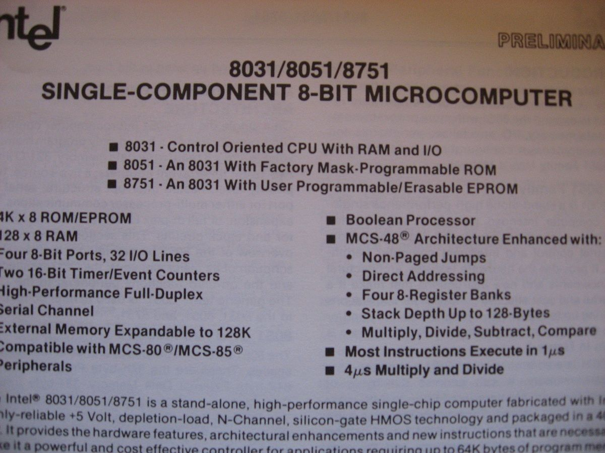 hmos technology microprocessor