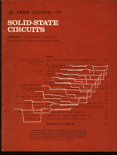 IEEE Journal of Solid-State Circuits, June 1973, issue on Charged-Coupled Devices; volume SC-8, number 3; includes page-flip 'movies' illustrating dynamics of the charge transfer. IEEE.