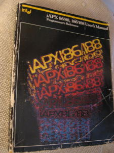 Intel iAPX 86/88, 186/188 User's Manual, Programmer's Reference 1983. Intel.