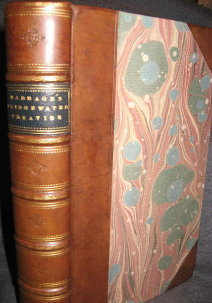 The Ninth Bridgewater Treatise, a Fragment; second edition 1838. Charles Babbage.