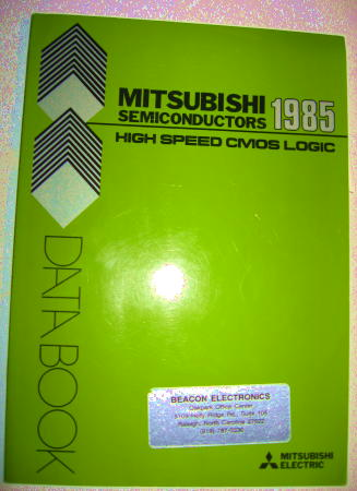 Mitsubishi Semiconductors High-Speed CMOS Logic Data Book 1985. Mitsubishi Electric.