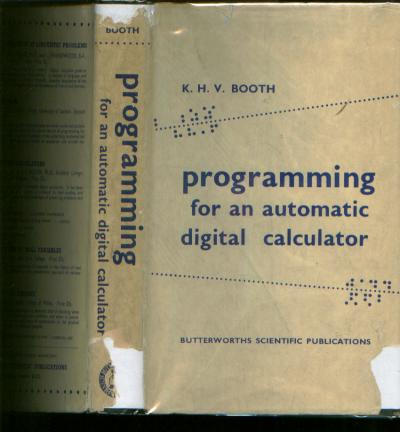 PROGRAMMING FOR AN AUTOMATIC DIGITAL CALCULATOR