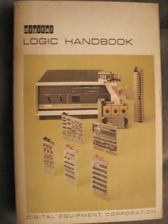 Logic Handbook 1968 Flip-chip modules; Digital Equipment Corporation DEC. DEC Digital Equipment Corporation.