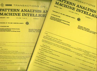 IEEE Transactions on Pattern Analysis and Machine Intelligence 1987, January and March issues; volume PAMI-9 numbers 1 and 2. IEEE Transactions.