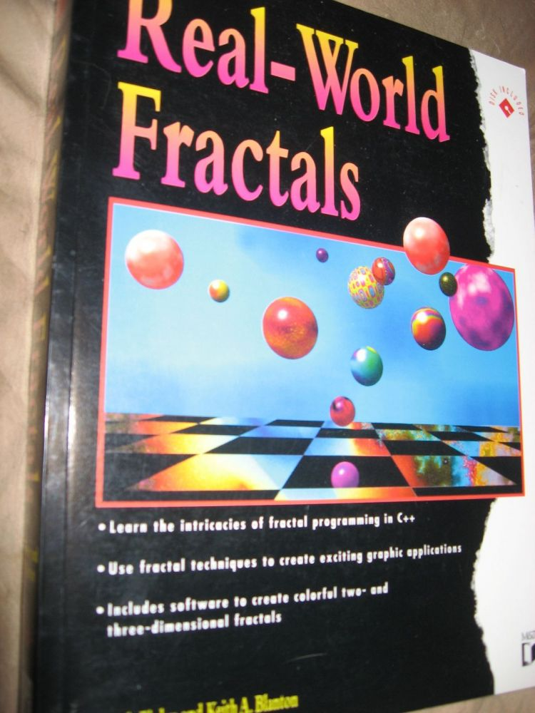 Real-World Fractals -- includes disk, book and disk set. Mark Finlay, Keith A. Blanton.
