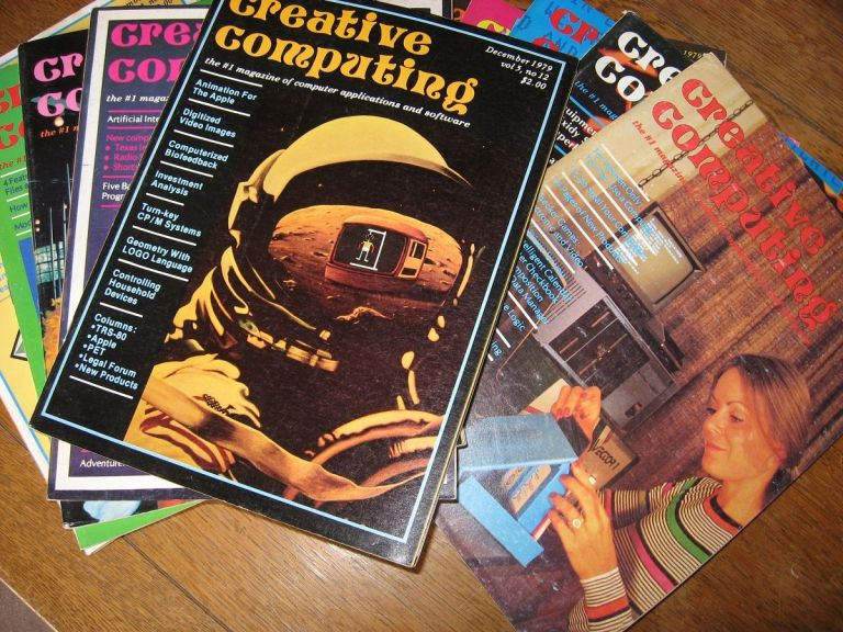 Creative Computing magazines, 1979 ten issues, January 1979 through December 1979 (missing October and November). Creative Computing magazine.