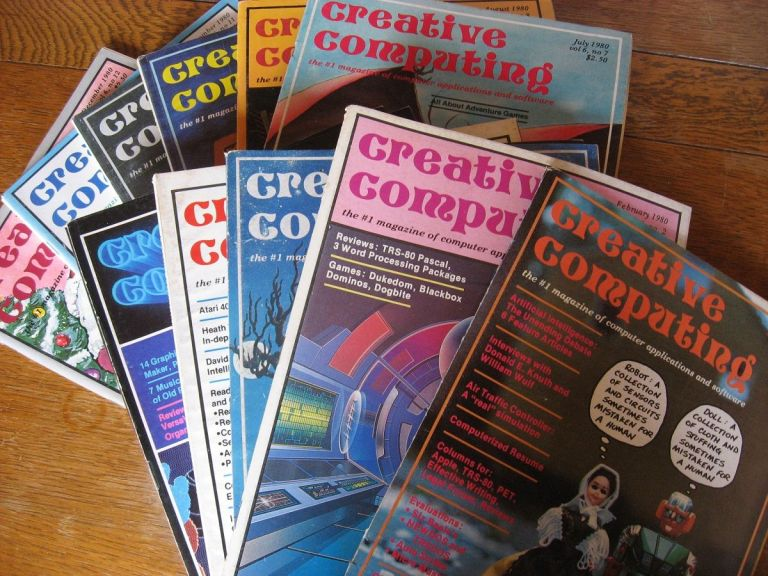 Creative Computing magazine, 1980 eleven issues, January 1980 through December 1980 (missing May). Creative Computing.