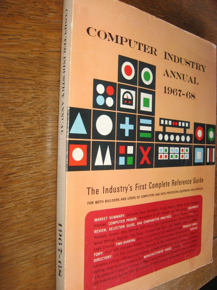 Computer Industry Annual 1967-68. na.