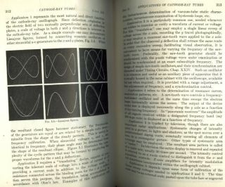 Electronic Circuits and Tubes, first edition, fifth impression 1947. Cruft Electronics Staff