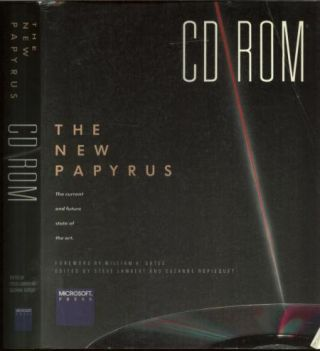 CD-ROM, The New papyrus; the current and future state of the art, 1986. Steve Lambert, Suzanne Ropiequet.