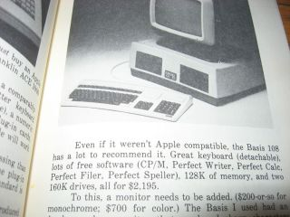 The Word Processing Book -- Short Course, wordprocessing; plus Buyer's Guide ca. 1983