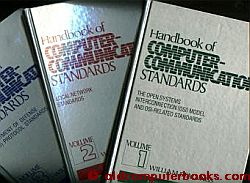 Handbook of Computer-Communications Standards, 3 volumes, hardcover. William Stallings.