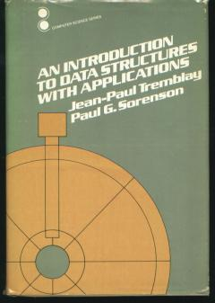 An Introduction to Data Structures with Applications, computer science series, 1984. Jean-Paul...