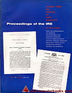 Proceedings of the IRE October 1962 Volume 50, Number 10. IRE Institute of Radio Engineers