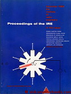 Proceedings of the IRE December 1962 Volume 50, Number 12. Institute of Radio Engineers