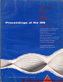Proceedings of the IRE October 1960 Volume 48, Number 10 ; Semiconductor Terms. Institute of...