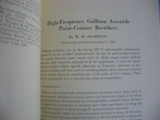 The Bell System Technical Journal vol. 38 no. 1, January 1959, volume XXXVIII number 1, single issue