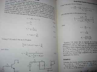 Analysis and Design of Analog Integrated Circuits, second edition 1984