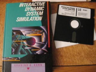 Interactive Dynamic System Simulation includes 5.25 diskette vers 3.5 IBM PC & compatibles....