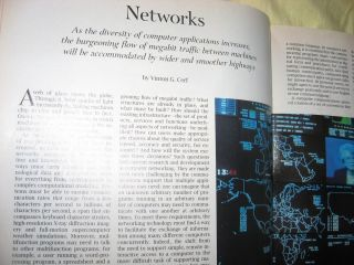 Communications, Computers and Networks, How to Work, Play and Thrive in Cyberspace; September 1991 Scientific American magazine, Special Issue