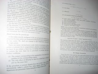 Discussion, Emphasizing the connection between analysis of variance and spectrum analysis, Bell Telephone System Technical Publications, Monograph 3906