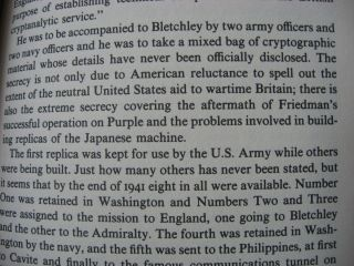 The Man Who Broke Purple - the life of Colonel William F Friedman, who deciphered the Japanese code in World War II