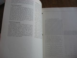 IBM Electric Punched Card Accounting Machines -- Customer Engineering Manual -- Test Control Panel, accounting machine Type 402