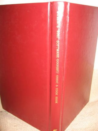 SCELBI 8080 Software Gourmet Guide and Cook Book, second edition 1978