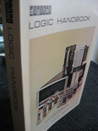 Logic Handbook 1967 Flip-chip modules, Digital Equipment Corporation DEC. Digital Equipment...