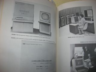 Electronic Information Displays for Management 1966 with photographs of equipment etc