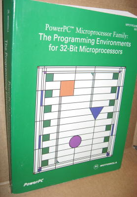 PowerPC Microprocessor Family -- The Programming Environments for 32-Bit Microprocessors. Motorola.