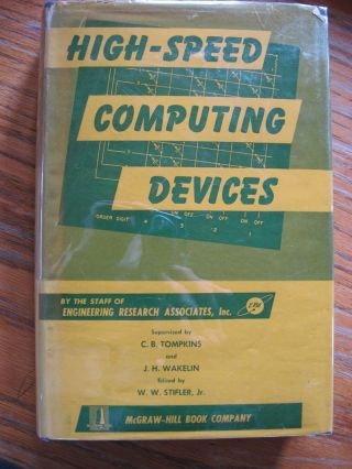 High-Speed Computing Devices, stated first edition 1950