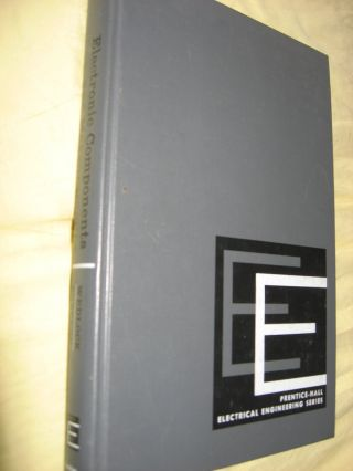 Electronic components and measurements. Bruce D. Wedlock, James K. Roberge.