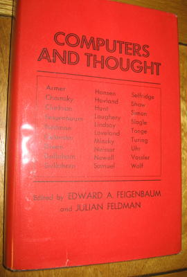 COMPUTERS AND THOUGHT. Edward Feigenbaum, Julian Feldman.