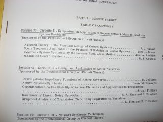 IRE Convention Record, 1956 -- Circuit Theory, volume 4 part 2