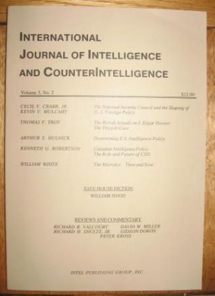 The Microdot -- then and now -- The MicroDot through History 1839 - 1989, in, International Journal of Intelligence and CounterIntelligence, volume 3 number 2, Summer 1989. William White.