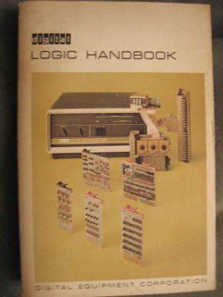 Logic Handbook 1968 Flip-chip modules; Digital Equipment Corporation DEC. DEC Digital Equipment...