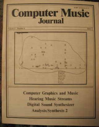 Computer Music Journal volume 3 number 4 December 1979 (issue 12). Computer Music Journal, C. Roads.