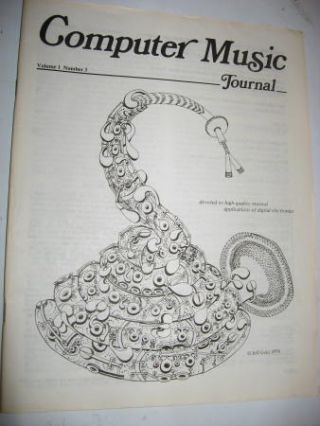 Computer Music Journal volume 1, number 3, June 1977. John Snell