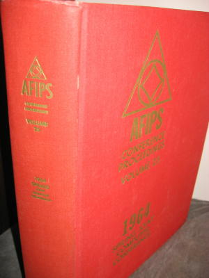 1964 Spring Joint Computer Conference AFIPS Conference Proceedings Volume 25. 1964 Spring Joint...
