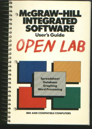 Open Lab user's guide, spreadsheet, database, graphing, word processing, IBM and compatible...