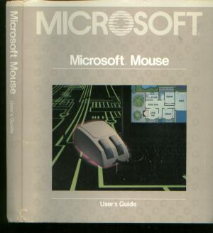 Microsoft Mouse user's Guide, for IBM Personal Computers. Microsoft.