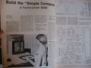 Kilobaud, the Small Computer Magazine, full year 12 individual issues, 1978