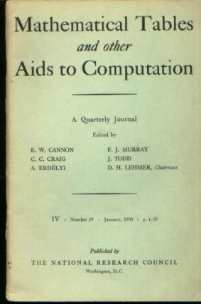 Magnetic Drum Storage for Digital Information Processing Systems, in, Mathematical Tables and other Aids to Computation vol 4 no 29, January 1950 / MTAC 1950