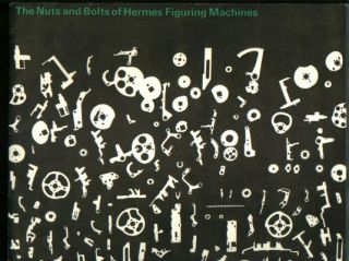 The Nuts and Bolts of Hermes Figuring Machines, oblong multi-page brochure, Hermes Calculators. Hermes Office machines.