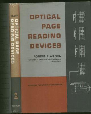 Optical Page Reading Devices. Robert A. Wilson.