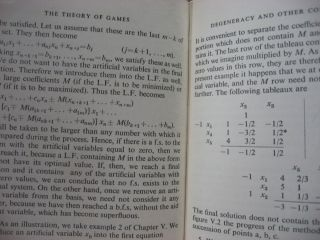 The Theory of Games and Linear Programming